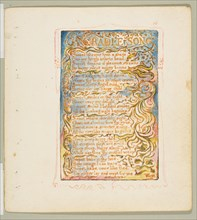 Songs of Innocence and of Experience: A Cradle Song, ca. 1825. Creator: William Blake.