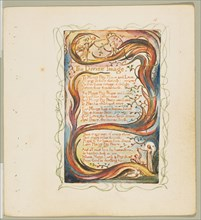 Songs of Innocence and of Experience: The Divine Image, ca. 1825. Creator: William Blake.
