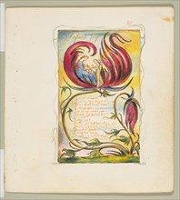 Songs of Innocence and of Experience: Infant Joy, ca. 1825. Creator: William Blake.
