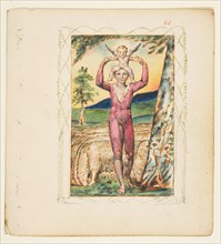 Songs of Experience: Frontispiece, ca. 1825. Creator: William Blake.