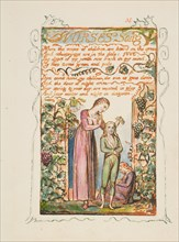 Songs of Innocence and of Experience: Nurses Song, ca. 1825. Creator: William Blake.