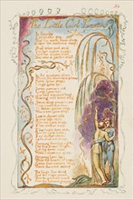 Songs of Innocence and of Experience: The Little Girl Lost, ca. 1825. Creator: William Blake.