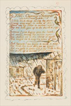 Songs of Innocence and of Experience: The Chimney Sweeper, ca. 1825. Creator: William Blake.