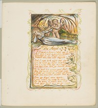 Songs of Innocence and of Experience: The Angel, ca. 1825. Creator: William Blake.