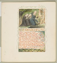 Songs of Innocence and of Experience: The Garden of Love, ca. 1825. Creator: William Blake.