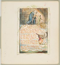 Songs of Innocence and of Experience: London, ca. 1825. Creator: William Blake.