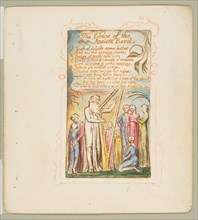 Songs of Innocence and of Experience: Voice of the Ancient Bard, ca. 1825. Creator: William Blake.