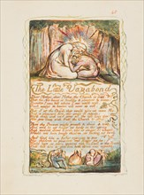 Songs of Innocence and of Experience: The Little Vagabond, ca. 1825. Creator: William Blake.