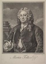 Martin Folkes, 1742. Creator: William Hogarth.