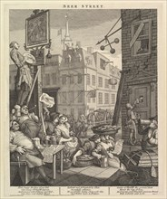 Beer Street, February 4, 1751. Creator: William Hogarth.