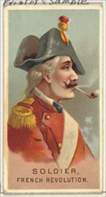 Soldier, French Revolution, from World's Smokers series