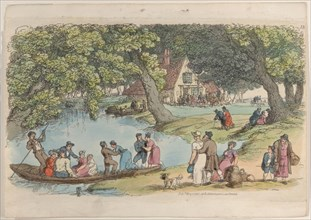 """Plate 15, from """"World in Miniature"""", 1816."""