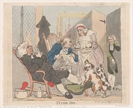 Tithe Pig, January 1, 1790.