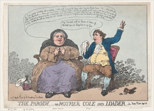 The Parody, or Mother Cole and Loader, April 10, 1784.