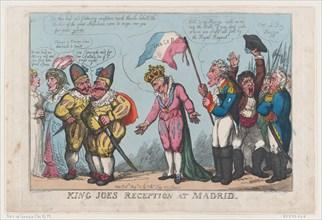 King Joe's Reception at Madrid