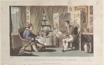 Quae Genus Reading to Sir Jeffery Gourmand