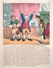 A Cure for Lying and a Bad Memory, July 9, 1807.