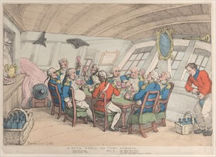 A Snug Cabin, or Port Admiral, June 21, 1808.