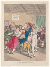 A Tailors Wedding, February 20, 1814.