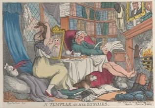 A Templar at His Studies, March 20, 1811.