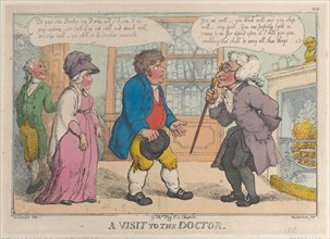 A Visit to the Doctor, 1809-12?.