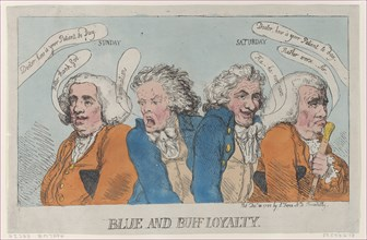 Blue and Buff Loyalty, December 31, 1788.