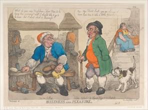 Business and Pleasure, [1813], reprint.