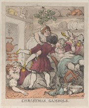 Christmas Gambols, November 30, 1812.