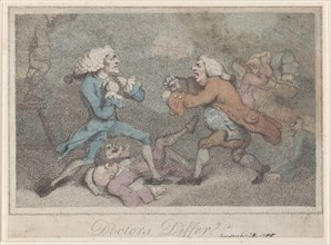 Doctors Differ, November 28, 1785.
