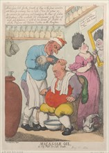 Macassar Oil, An Oily Puff for Soft Heads, March 15, 1814.