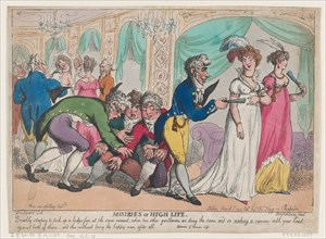 Miseries of High Life, March 1, 1808.