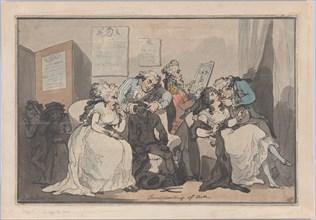 Transplanting of Teeth, 1787.