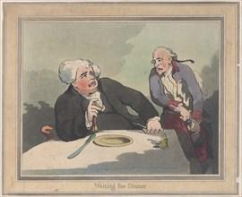 Waiting for Dinner, November 5, 1792.
