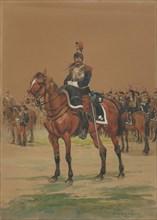 French Cuirassier, 1872.