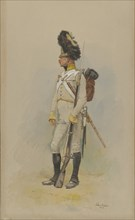 A Standing Grenadier of the Municipal Guard, 1891.
