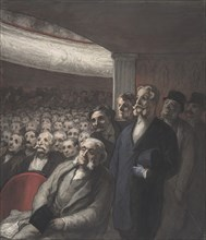 A Theater Audience, 19th century.