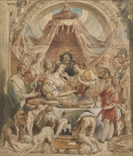 The Banquet of Anthony and Cleopatra, 17th century.
