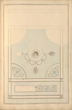 Design for Drawing Room Ceiling, Castlecoole, County Fermanagh, Ireland, ca. 1790-97.