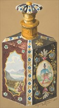 Design for a Decanter, 19th century.