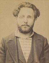 Maurin. émile, Auguste. 31 ans, né à Marseille (Bouche du Rhône). Ex photographe. Anarchiste. 2/7/94. , 1894.