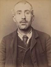 Ripert. Thomas. 33 ans, né à Marseille. Cocher. Anarchiste. 5/3/94., 1894.