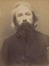 De la Salle. Gabriel. 45 ans, né à Nantes (Loire-Inf.). Publiciste. Disposition du Préfet de Police. 16/3/94. , 1894.