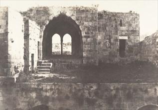 Jérusalem, Hospital de Sainte-Hélène, Intérieur, 1854.