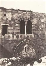 Jérusalem, Hospital de Sainte-Hélène, Face Sud, 1854.