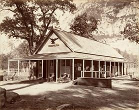 Cosmopolitan Saloon, ca. 1872, printed ca. 1876.