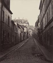 Rue Neuve-Coquenard (from the Rue Lamartine), 1870s.