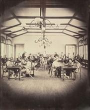 Asile impérial de Vincennes, salle de jeu, 1858-59.