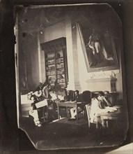 Asile impériale de Vincennes: la bibliothèque, 1858-59.
