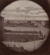 Asile impériale de Vincennes, vue de Charenton, 1858-59.