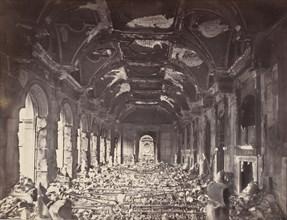 Grande Salle du Conseil d'Etat, May 1871.